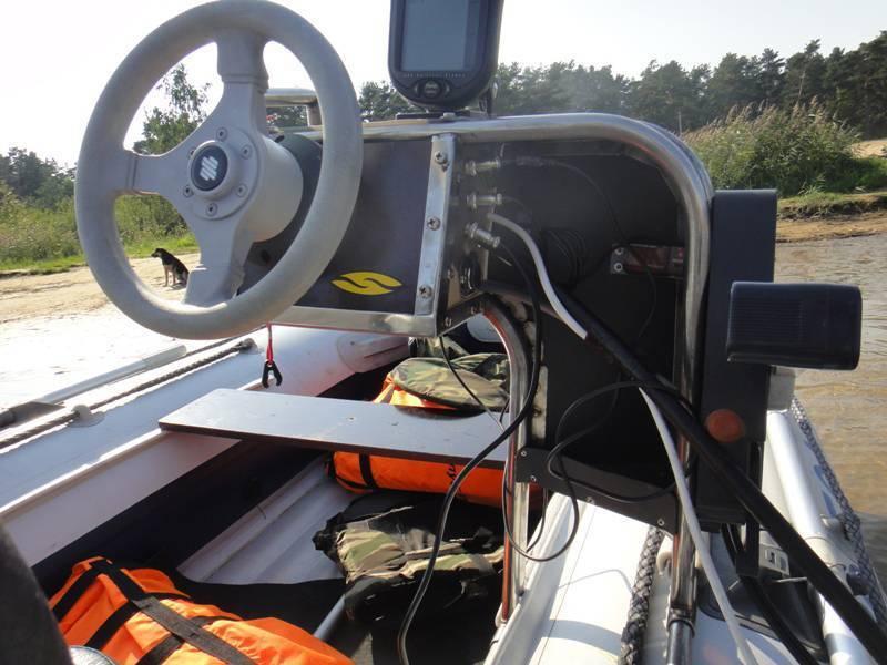 Рулевая консоль для лодки пвх для управления мотором (пластиковая и мини-консоли)