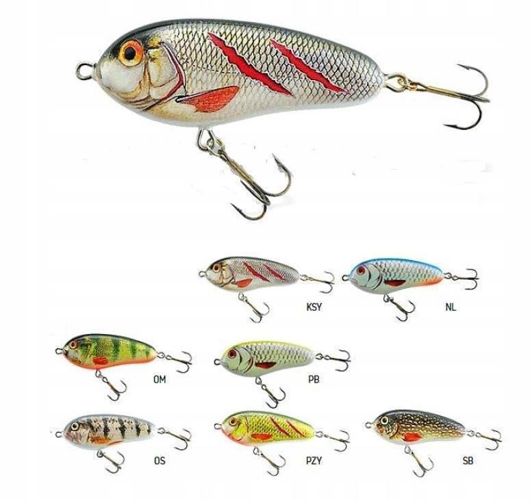 Обзор воблера jaxon hs fat pike 2-sec - товары для рыбалки эбису