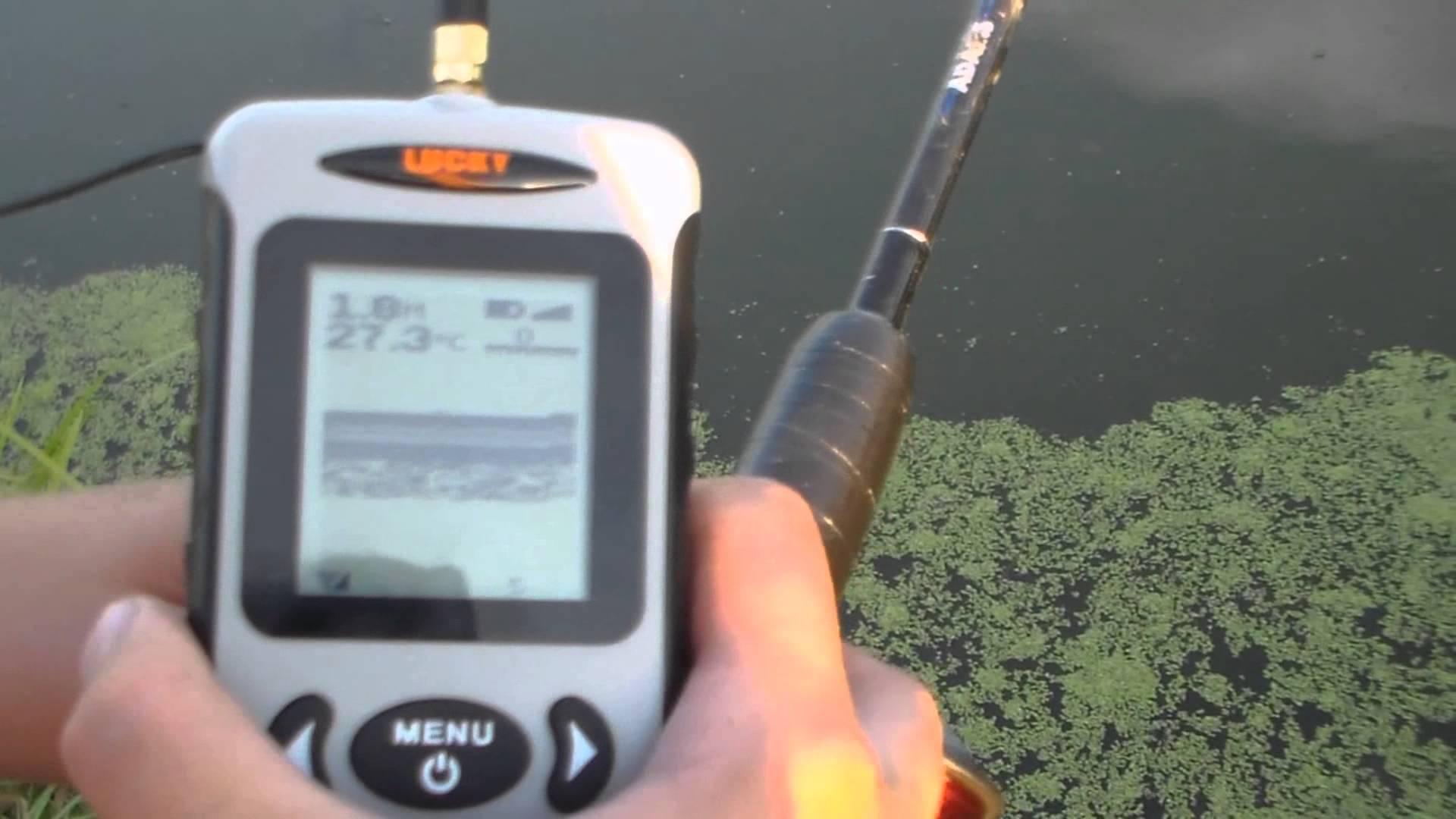 Выбираем беспроводной эхолот для рыбалки с берега зимой и летом