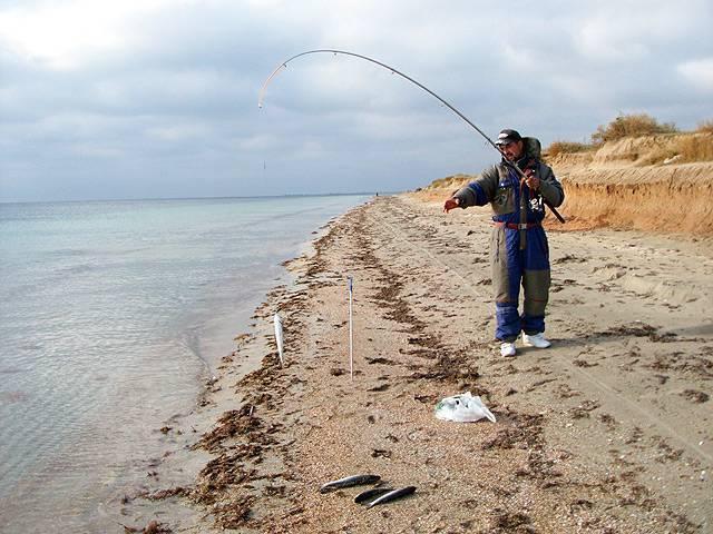 Рыбалка в евпатории