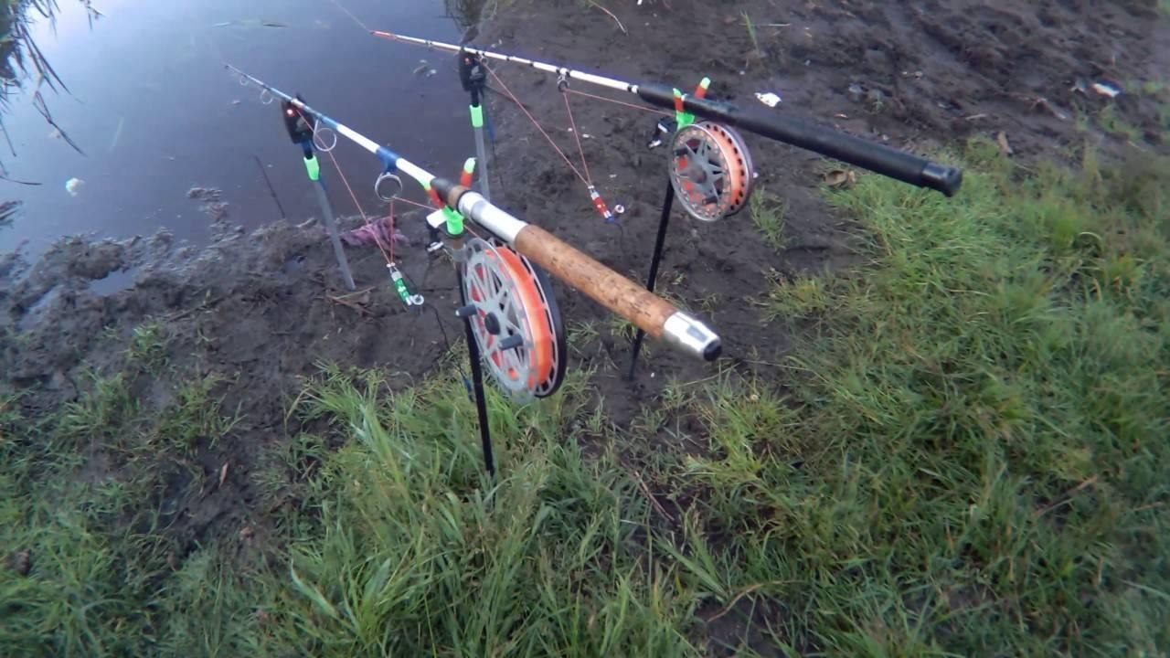 Рыбалка на резинку - ловля на снасть с берега, как сделать своими руками