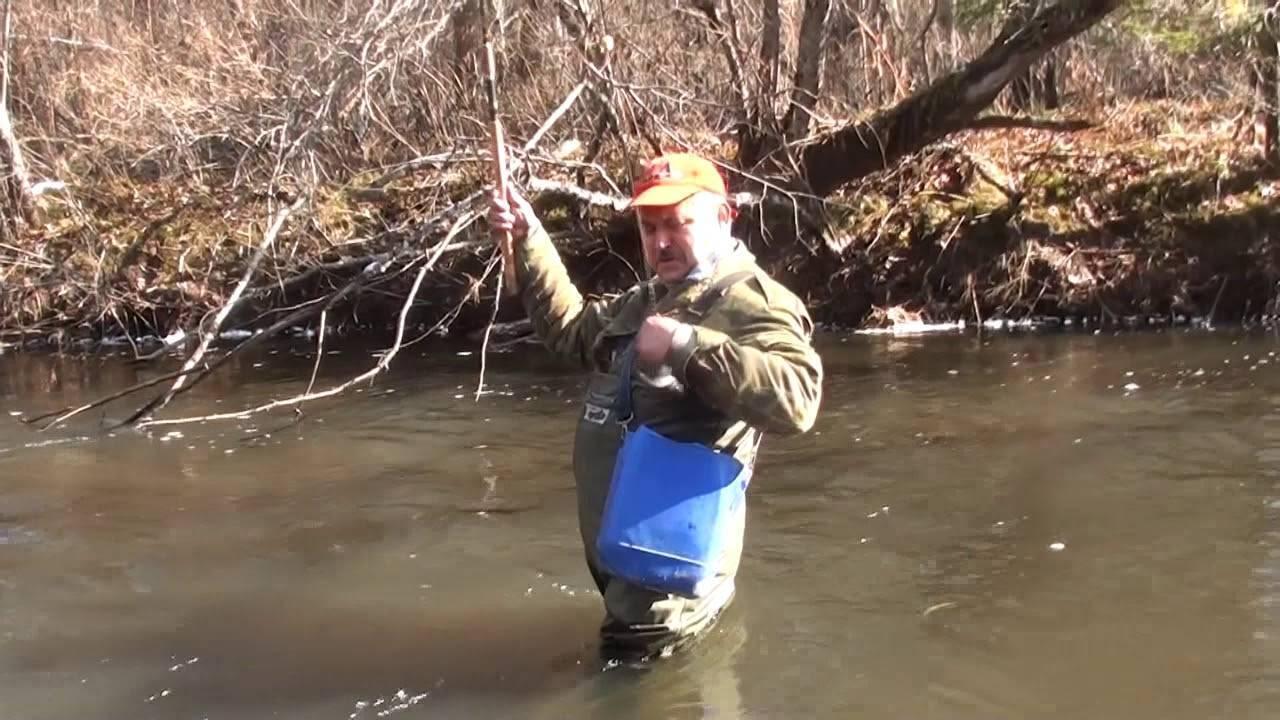 Особенности ловли хариуса в малых реках
