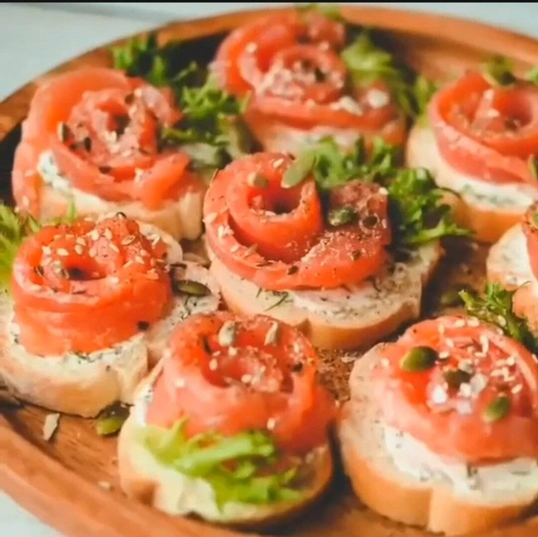 Бутерброды - рецепты