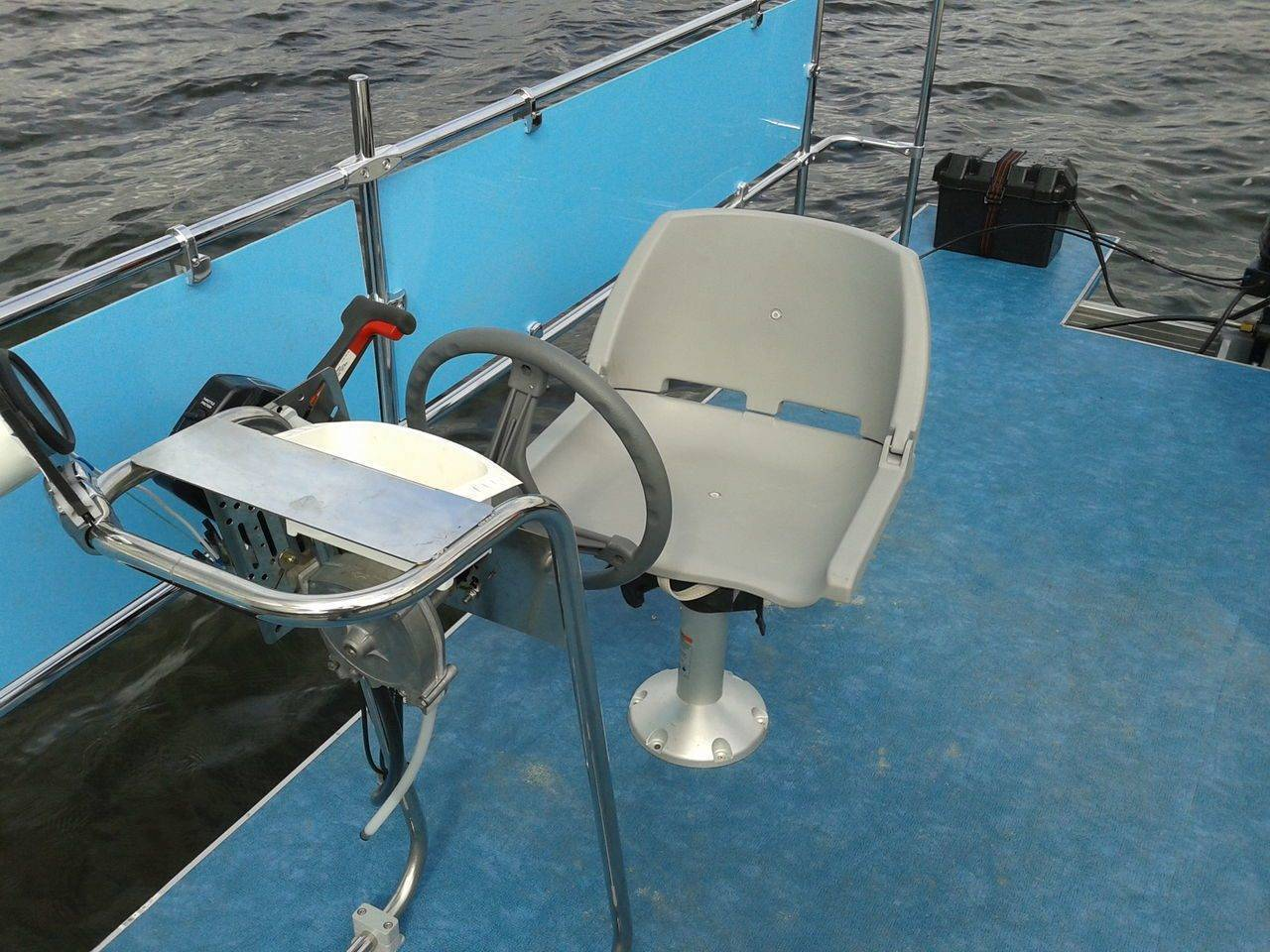 Рулевая консоль для лодки — lodkavmore