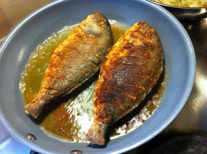 Как приготовить рыбу на сковороде речную рыбу