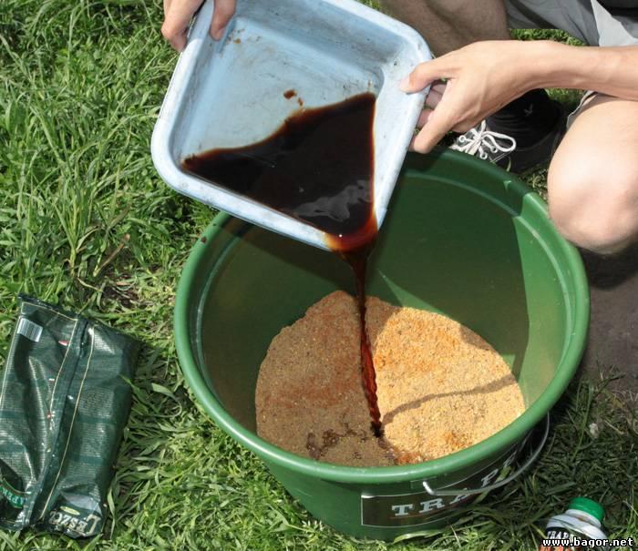 Как использовать мелассу для рыбалки - рыбалка