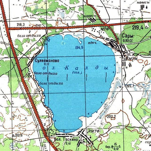 Уелги озеро — место для рыбака
