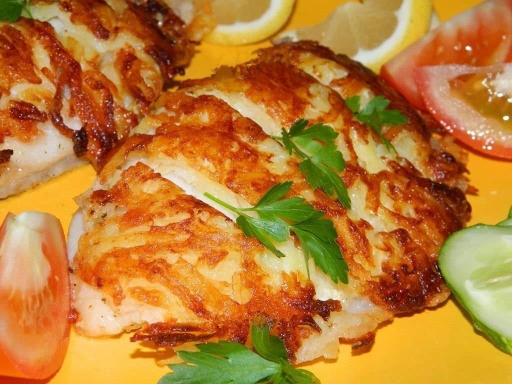Горячие блюда из рыбного фарша - рецепты