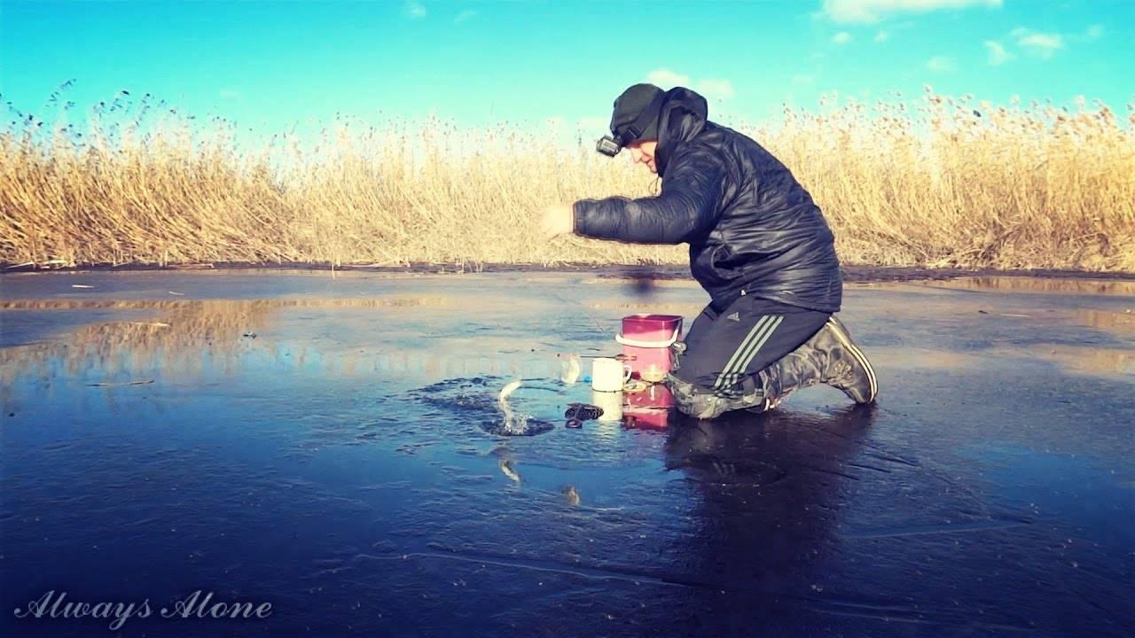 Особенности ловли линя в зимний период