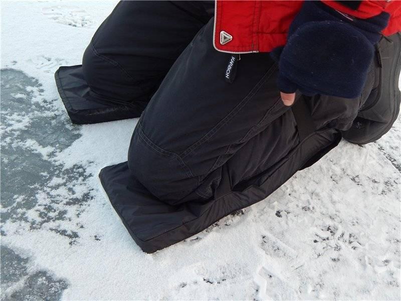 Наколенники для зимней рыбалки своими руками