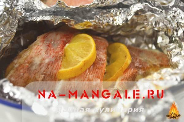 Рыба запеченная (более 100 рецептов с фото) - рецепты с фотографиями на поварёнок.ру
