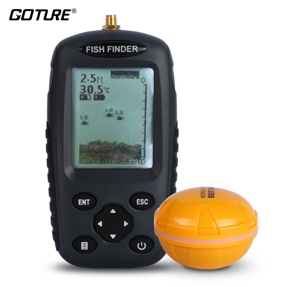 Обзор эхолота fish finder ff 1108-1