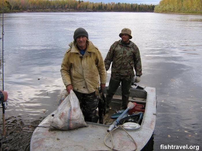 Платная рыбалка и рыболовные туры в томской области