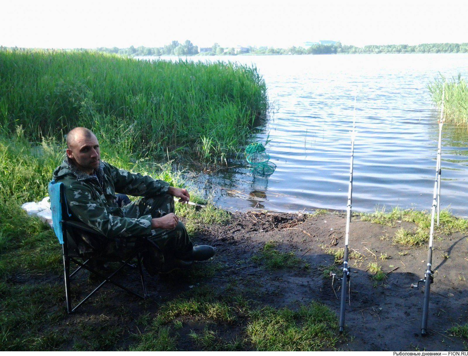 Рыбалка в муромском районе