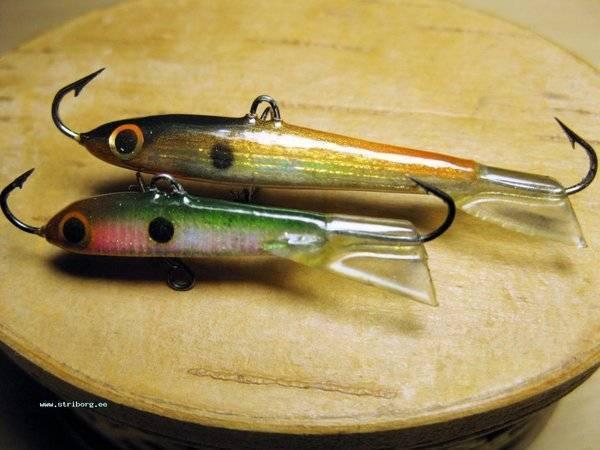 Зимние балансиры на окуня, судака и щуку, рыбалка на балансир