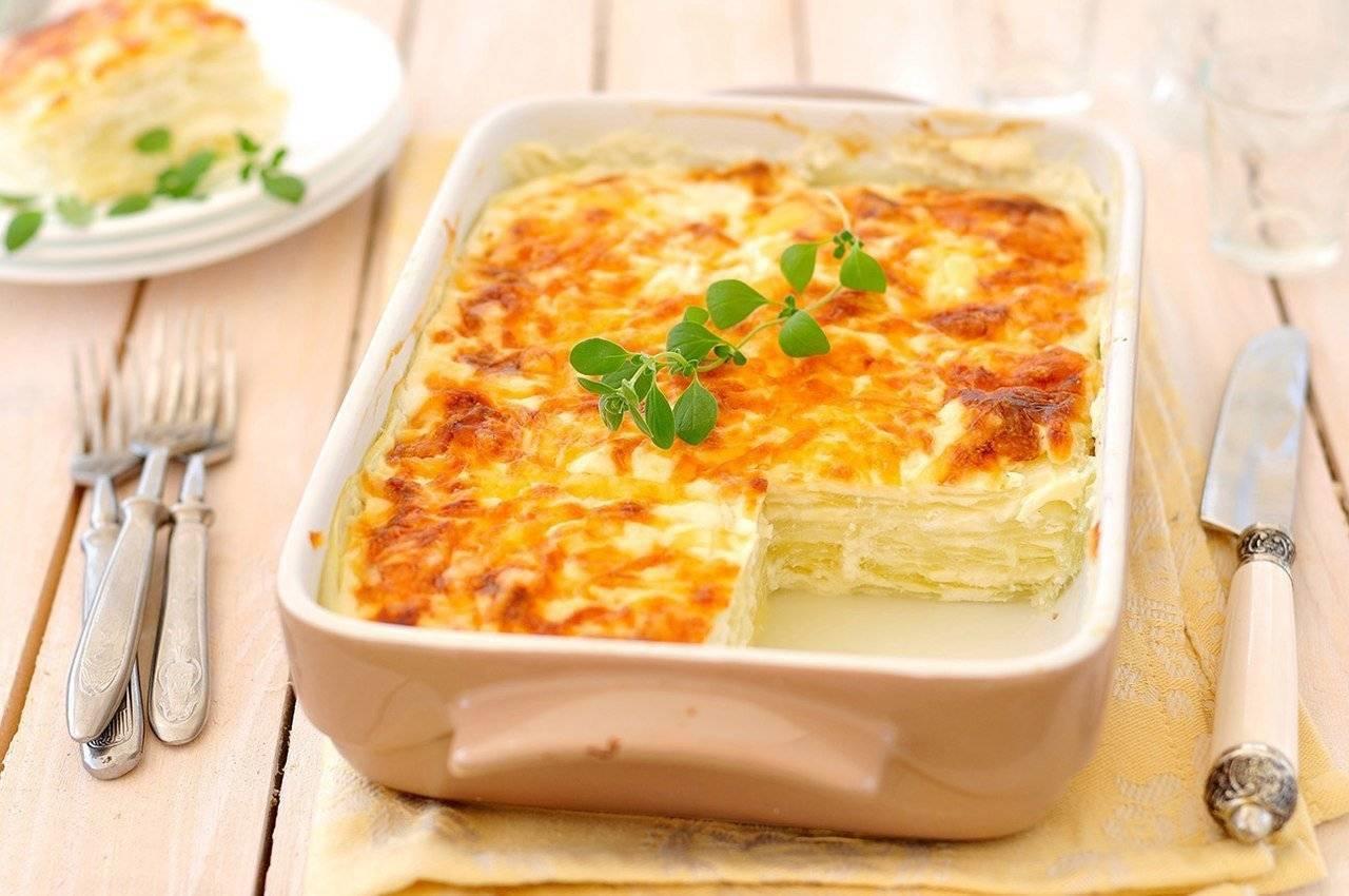 Картофельная запеканка с рыбой - рецепт