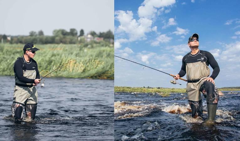 Как выбрать вейдерсы для рыбалки правильно