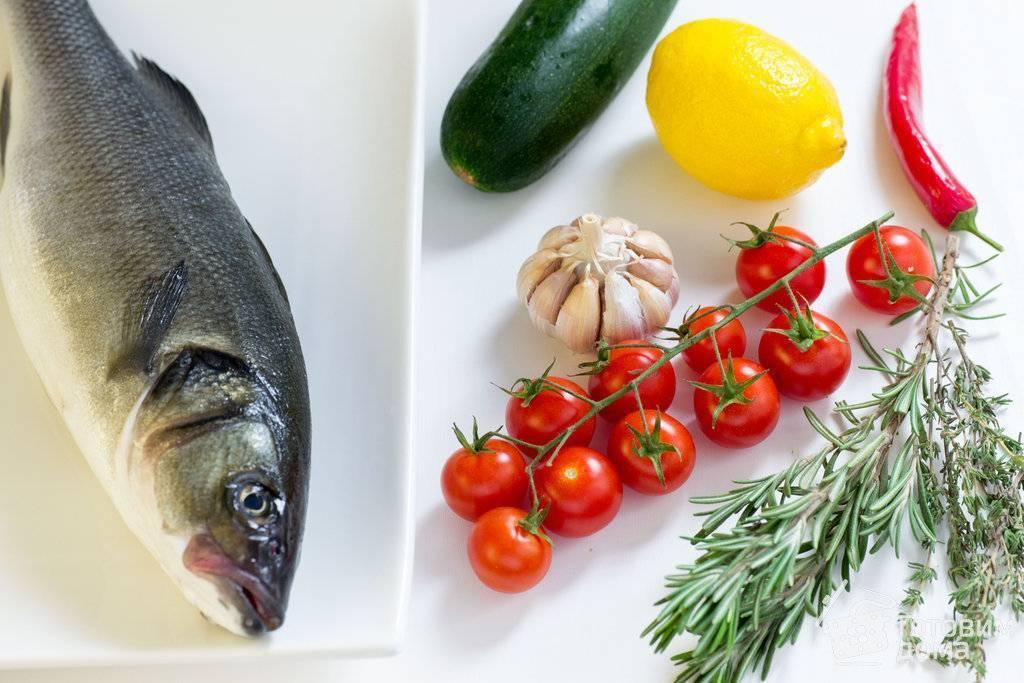 Рецепты из сибаса