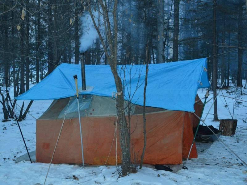 Как сделать палатку для зимней рыбалки своими руками: рекомендации по самостоятельному изготовлению