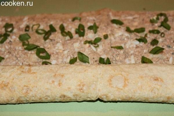 Рулет из лаваша с красной рыбой – 10 пошаговых рецептов с фото