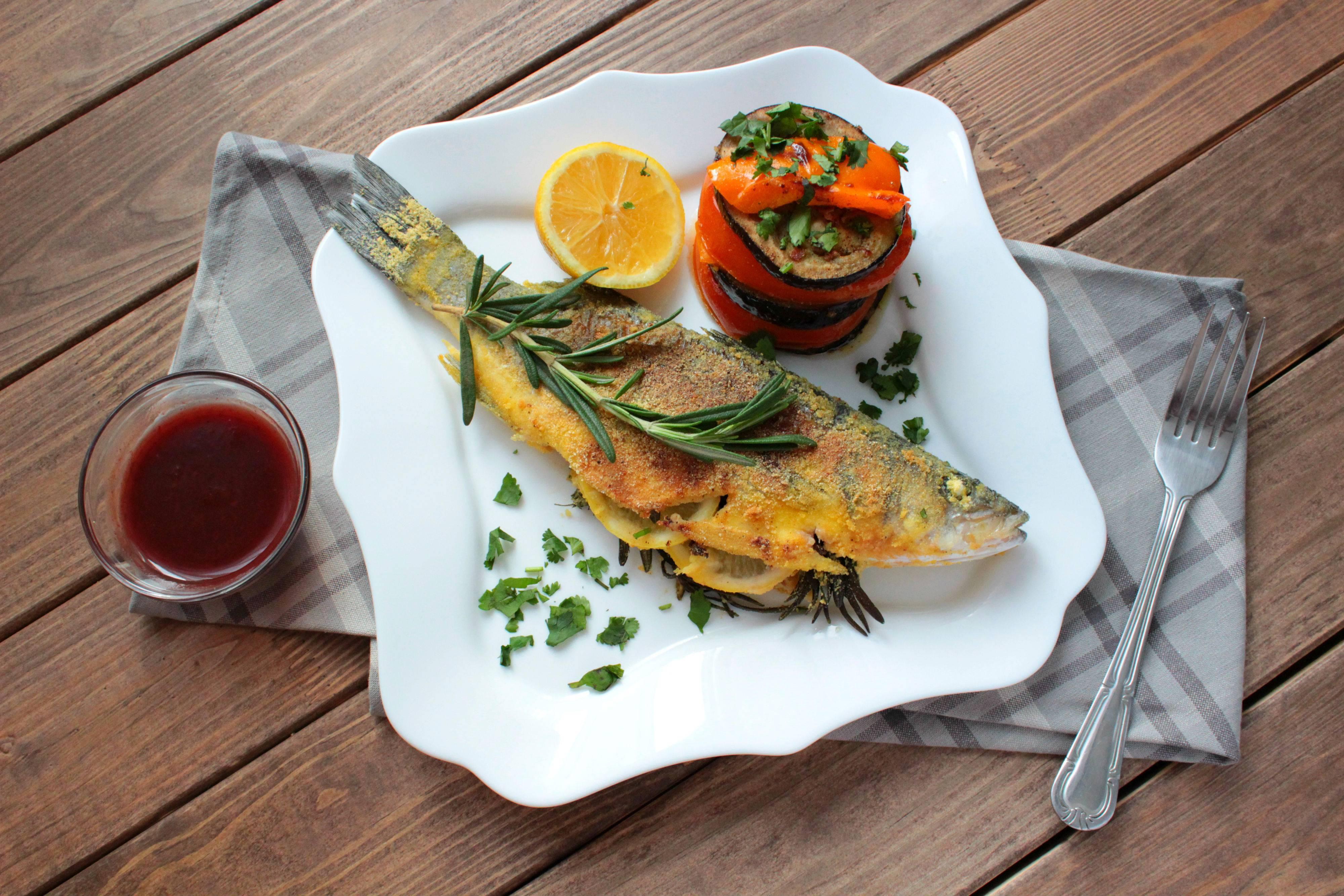 Как приготовить рыбу сибас в фольге в духовке
