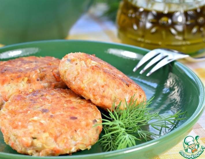 Рыбные котлеты в духовке – очень вкусные рецепты