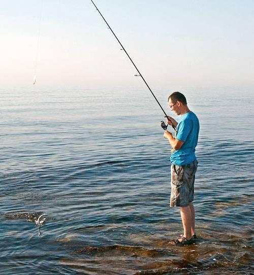 Спиннинг на черном море с берега