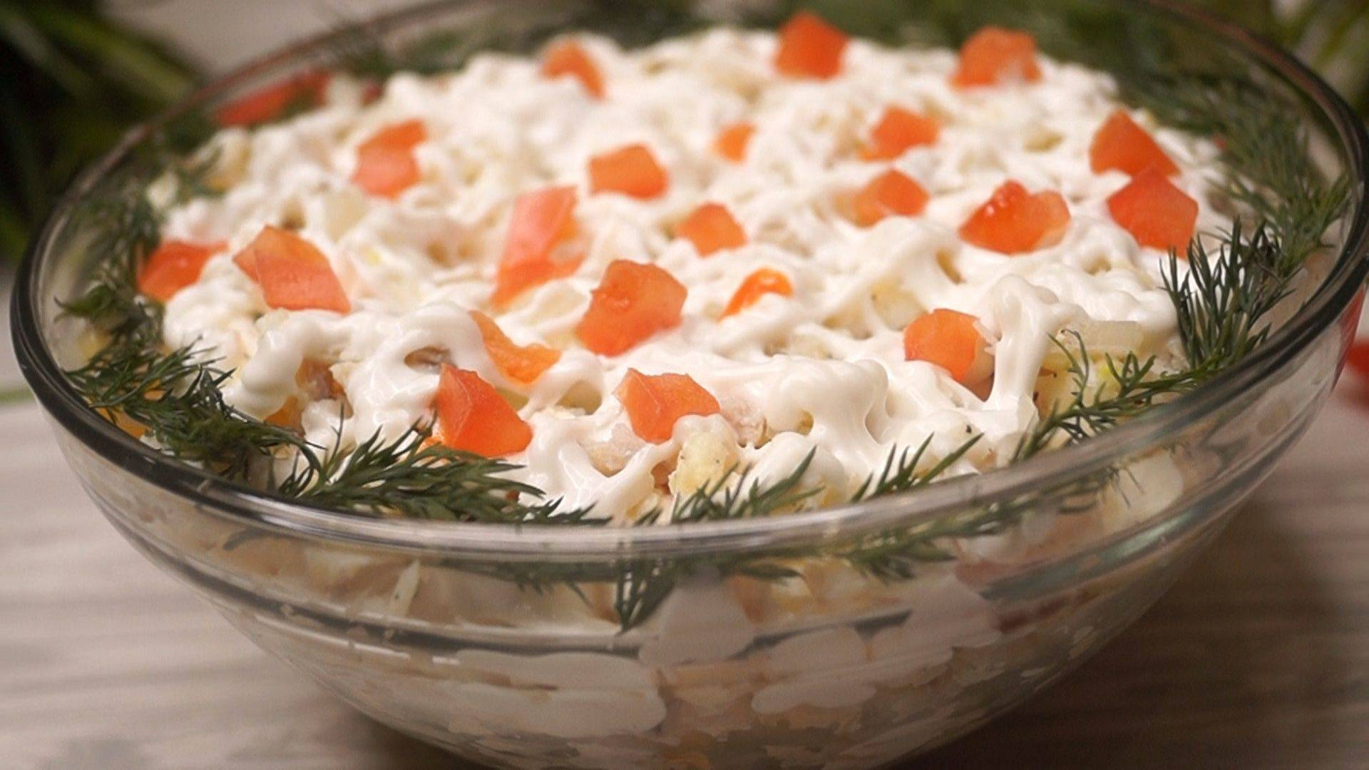Как приготовить салат с красной рыбой по пошаговому рецепту с фото