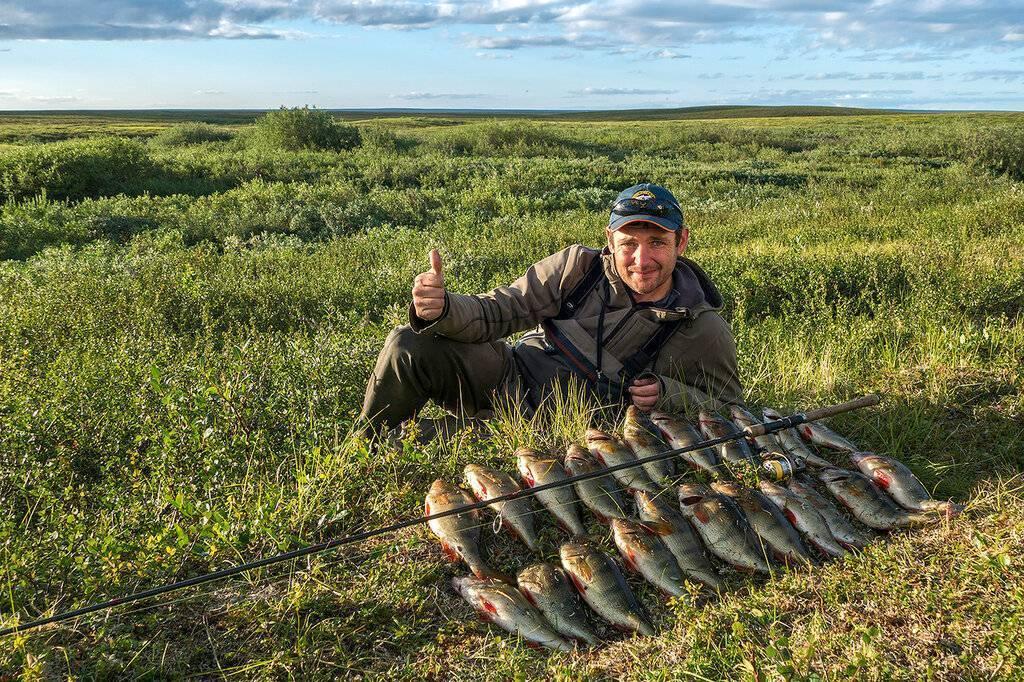 Рыбалка в Ненецком автономном округе: лучшие места на карте ТОП-10