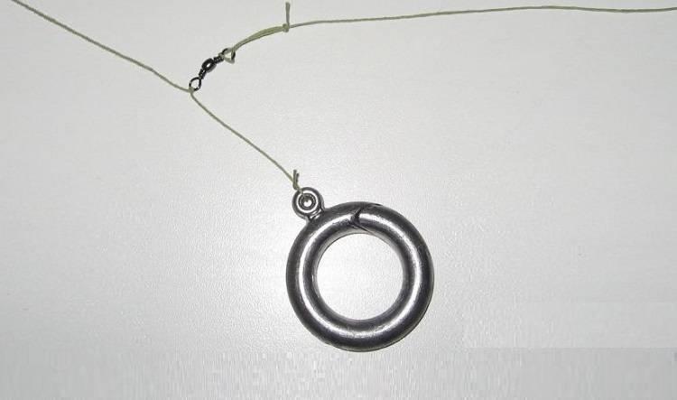 Снасть кольцо на леща: народная рыболовная оснастка для ловли с лодки