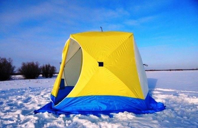 Виды и критерии выбора палаток для рыбалки