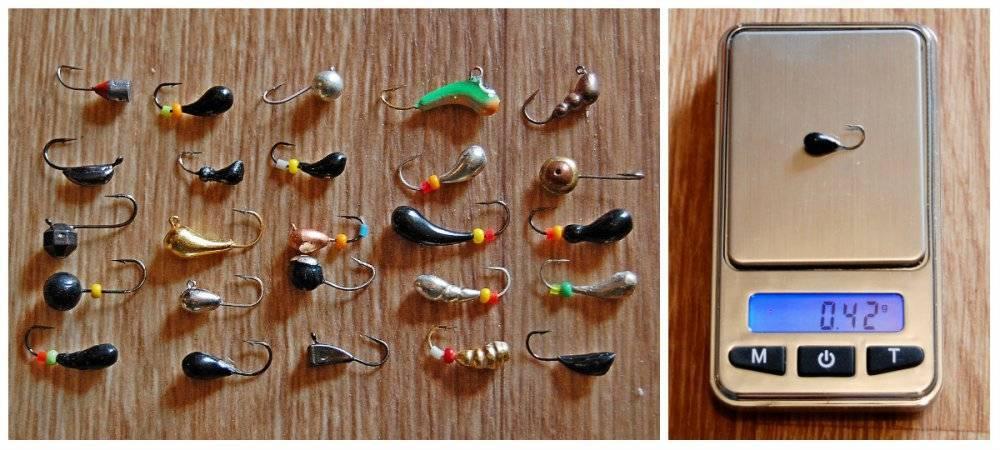 Мормышки для зимней рыбалки - обзор ключевых параметров