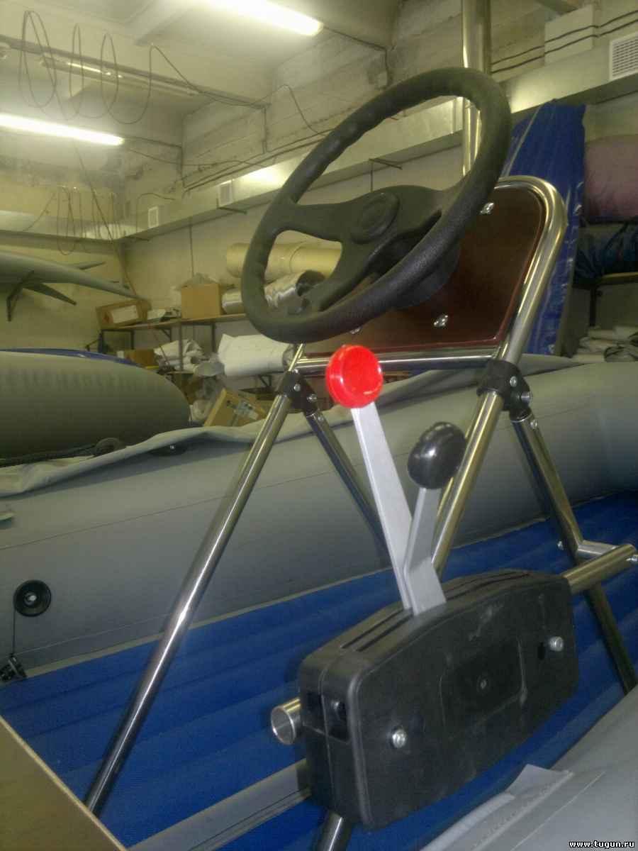 Рулевая консоль для лодки