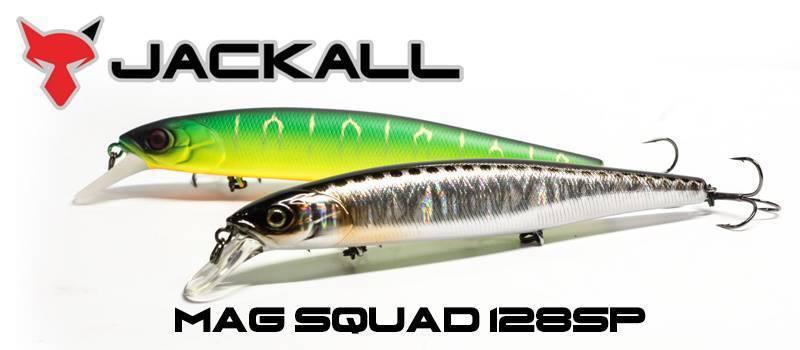 Воблер Jackall Mag Squad 115SP (16 г) Chartreuse Striped AYU
