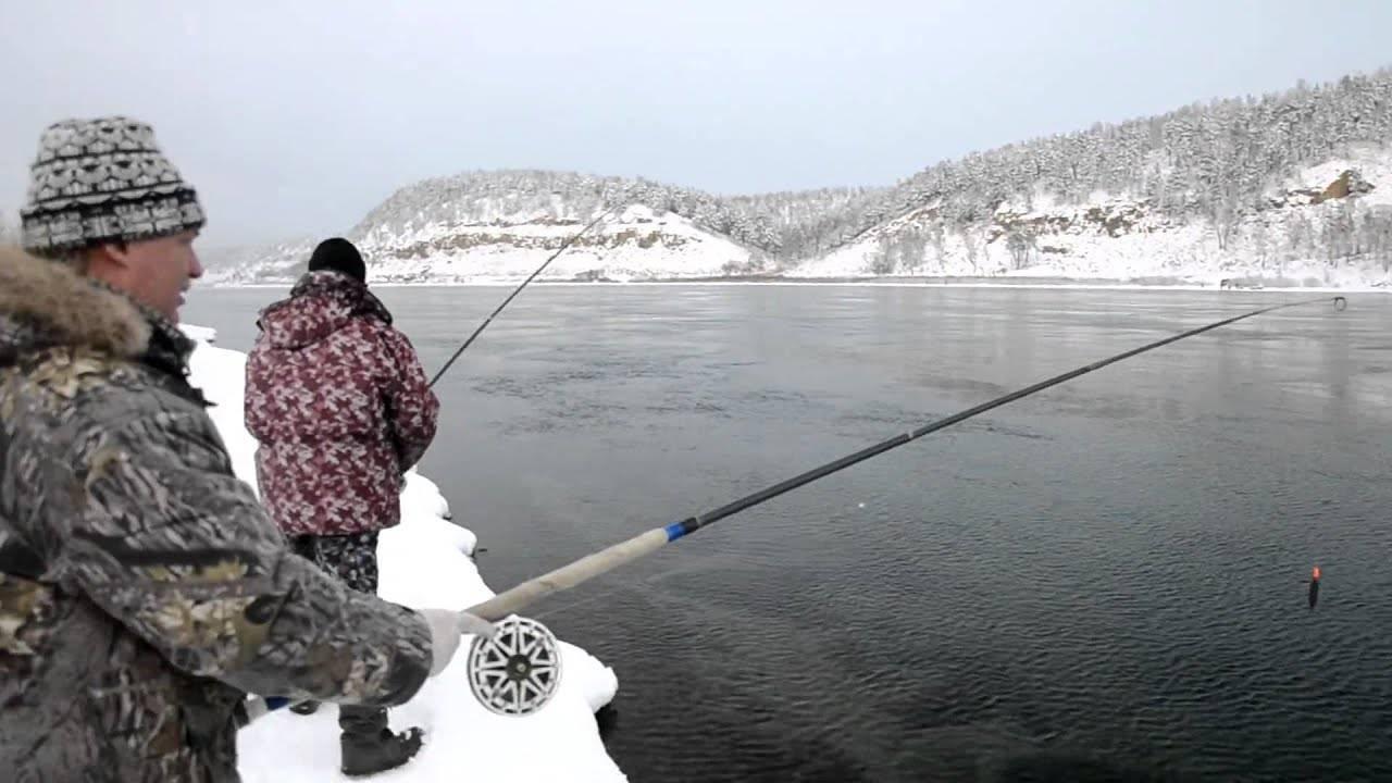 Ловля рыбы на енисее
