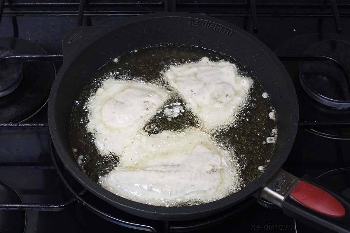 Кляр для рыбы на минеральной воде, кефире, молоке, сметане и другие рецепты