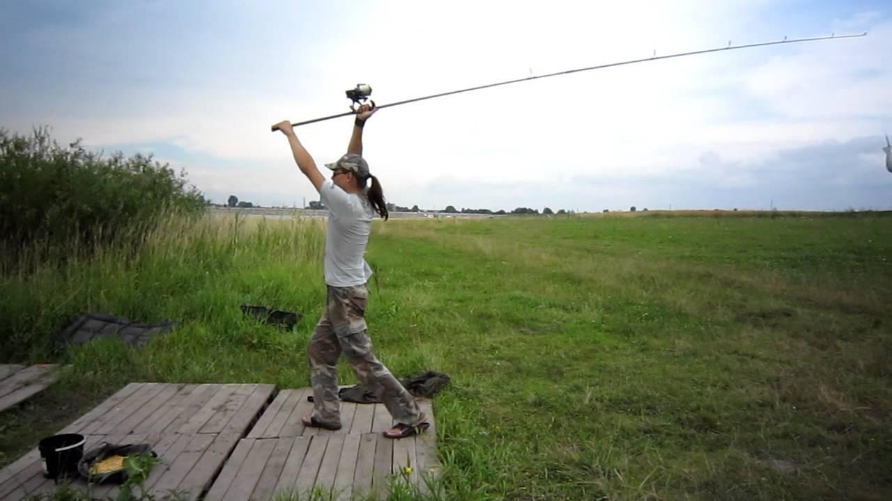 Как забрасывать спиннинг правильно - советы начинающим рыбакам