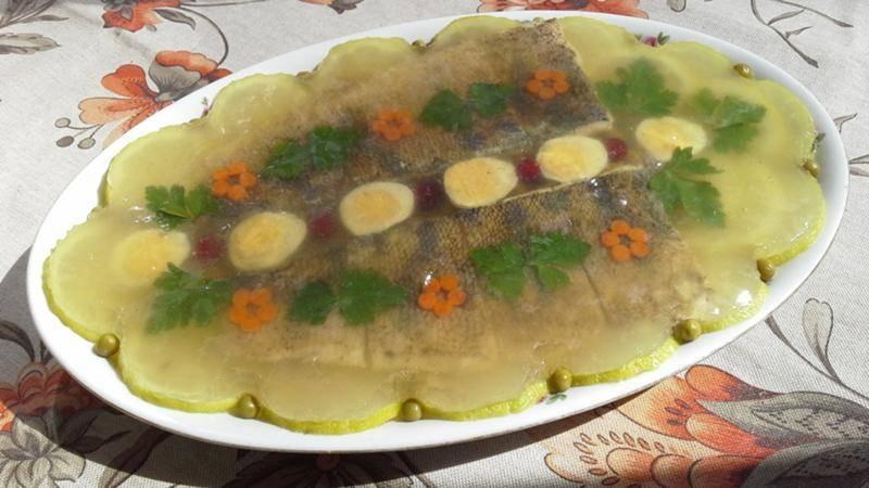 Заливное из рыбы — простые и вкусные рецепты