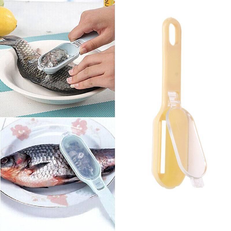 Чистка рыбы от чешуи: как правильно и быстро почистить рыбьи тушки