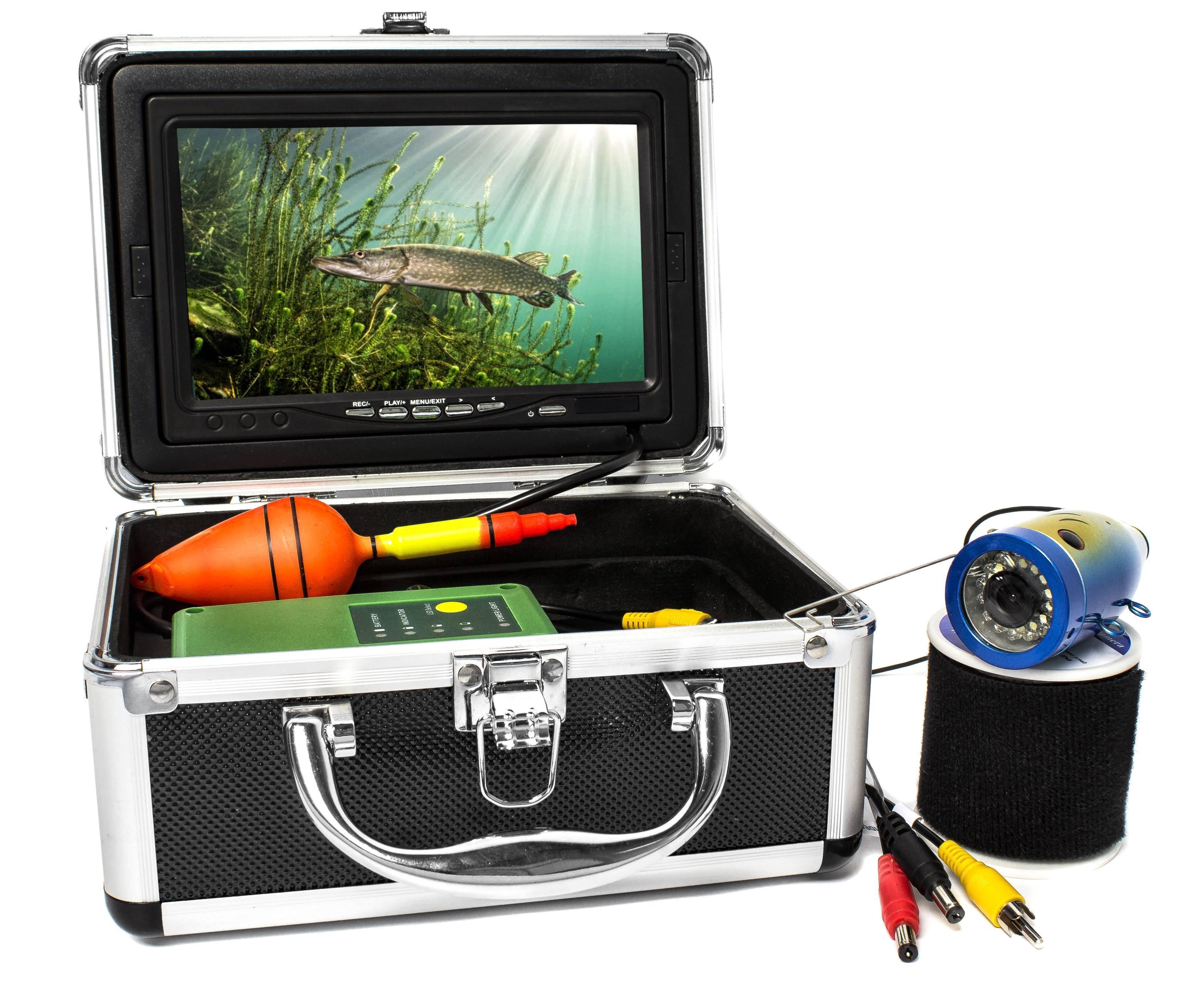 10 лучших подводных камер для зимней рыбалки, рейтинг