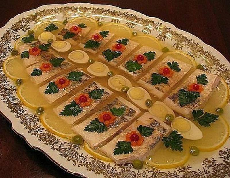 Заливная рыба — лучшие рецепты. как правильно и вкусно приготовить заливную рыбу.