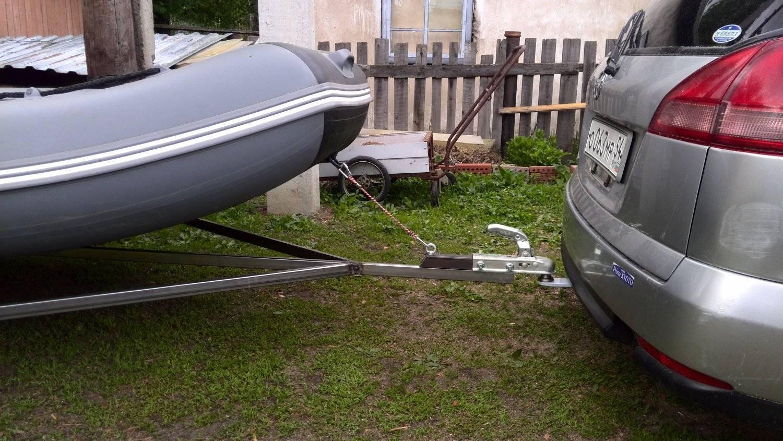 Прицепы для перевозки лодок: универсальные, разборные, самосвальные