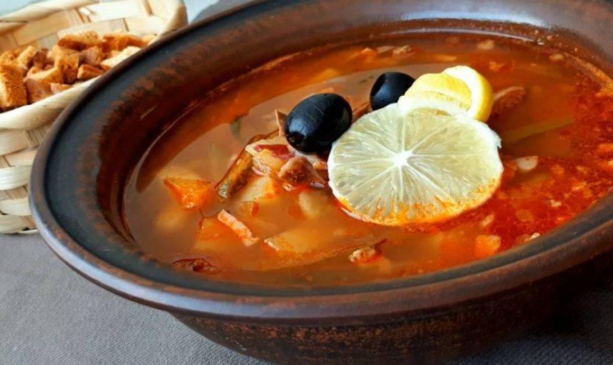 Рыбная солянка из рыбы рыбная солянка - 4 рецепта - 1000.menu