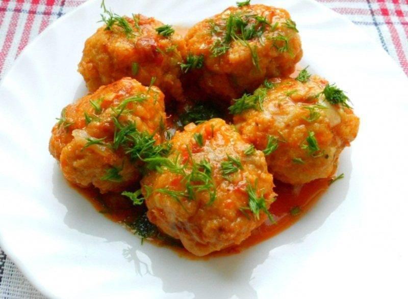 Детские рыбные тефтели / блюда из рыбного фарша / tvcook: пошаговые рецепты с фото