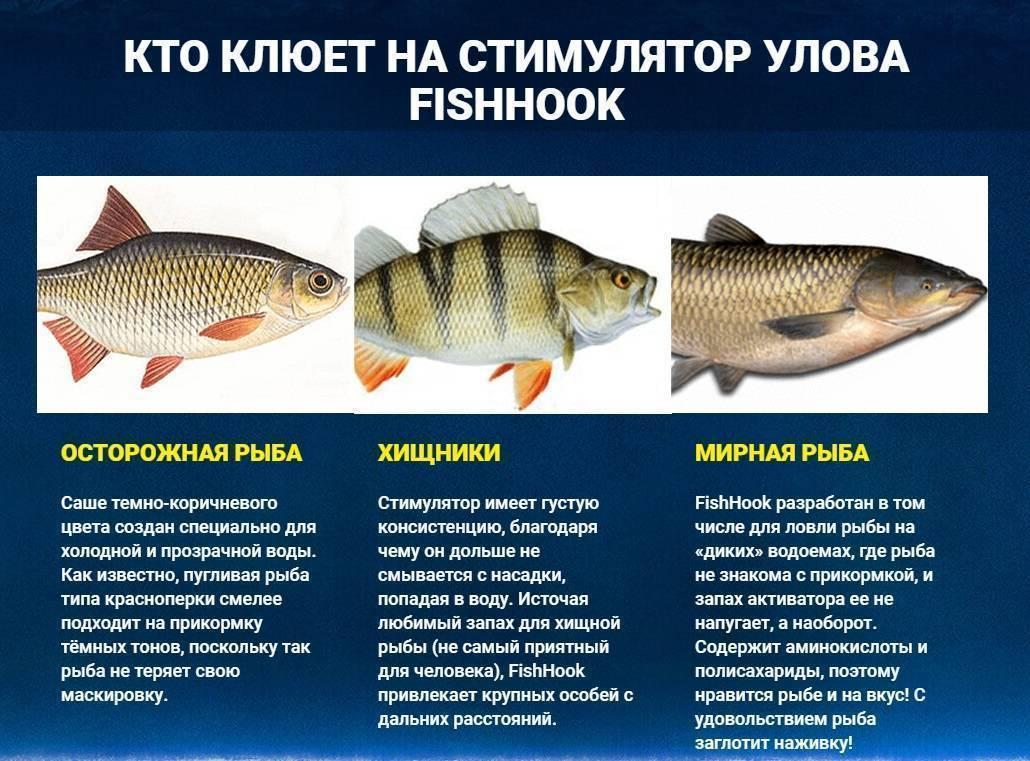 Активатор клювання fishhook великий улов