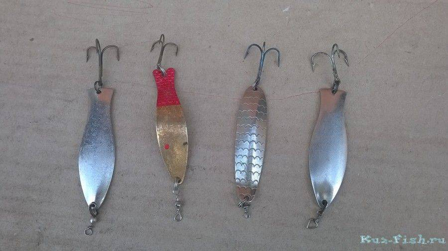 Блёсны для ловли щуки (покупные и самодельные)