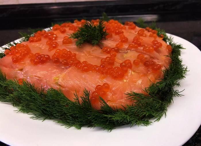 Салат из рыбы отварной - надежный источник омега жирных кислот: рецепт с фото и видео