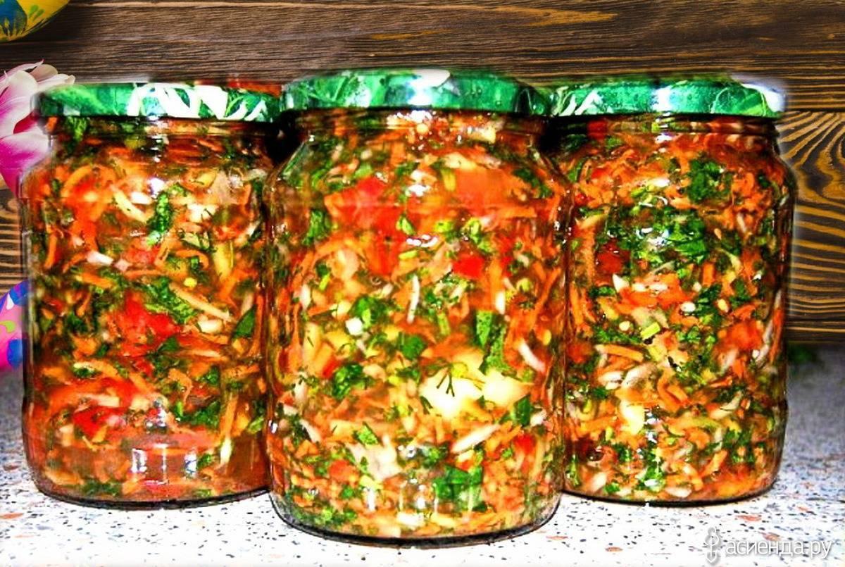 Как приготовить салат из скумбрии с овощами на зиму — 5 рецептов консервации