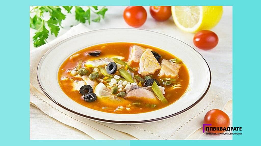 Классическая солянка от шеф-повара (суп 4 конфорок). зажигай!