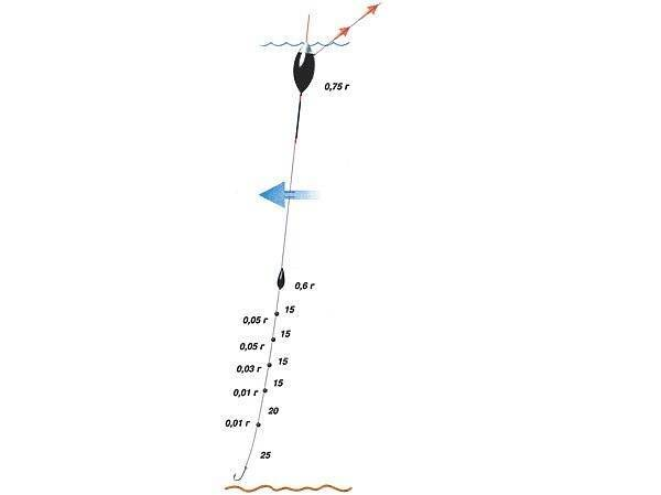 Оснастка зимней удочки на плотву: виды оснасток и правильное использование